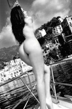 Antonella on the boat