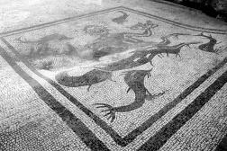 Ercolano escavations Dettail