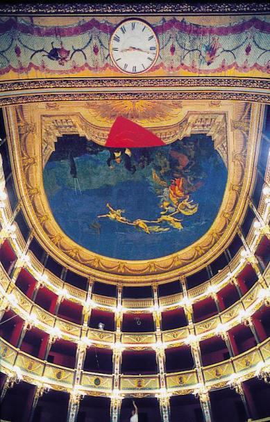 interno del teatro